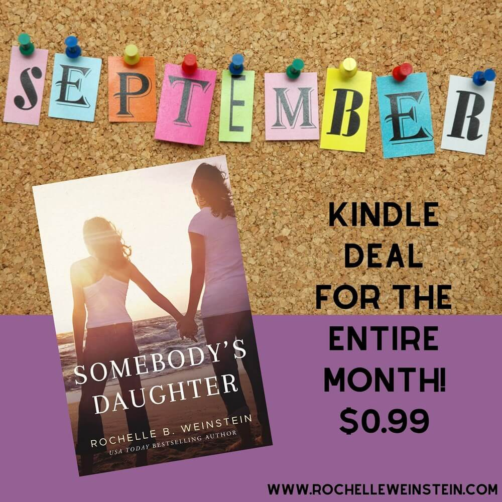 Somebody's Daughter $0.99 September 2019